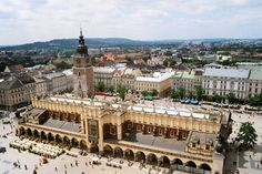 **Cloth Hall - Krakow, Poland (Main Market Square)