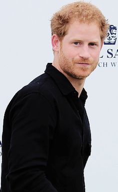 — Prince Harry at the Sentebale Royal Salute Polo...