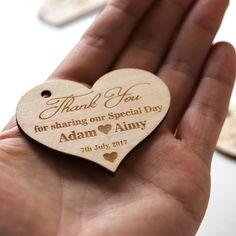 Cheap tag he, Buy Quality favor decor directly from China tag thank you Suppliers: Wood Heart Thank you wedding tags,rustic Wedding favor , Wedding tags,wooden favor decorations #cheapweddingdecorations