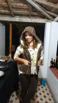 Ana. Fazenda , look perfeito.