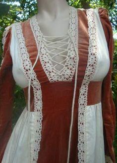 Vintage Gunne sax DressMedival Victorian Vintage corset Dress