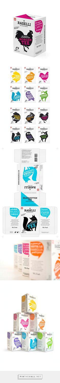Raselli #Tea Blends #packaging designed by Plasmadesign Studio - http://www.packagingoftheworld.com/2015/06/raselli-tea-blends.html