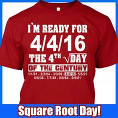 8e3269069dab8 Square root day Square Roots