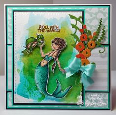 Marilyn's Cards and More: Saturday Challenge #332 Animals - Kraftin' Kimmie Stamps!