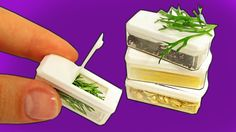 DIY Miniature Food Containers