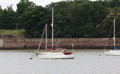 Writing on wall lower upnor