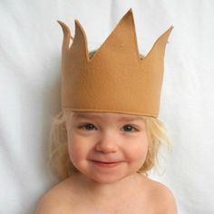 Theres One in all of us. Celebrate your childs inner Wild Thing with this simple & whimsical felt crown inspired by the one worn by Max, the King