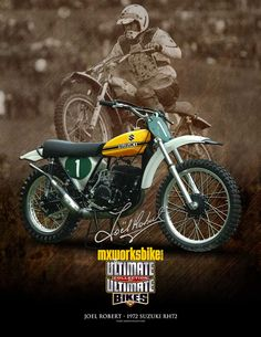 See a number of my favourite builds - distinctive scrambler builds like Suzuki Motocross, Suzuki Bikes, Suzuki Cafe Racer, Enduro Motorcycle, Motocross Bikes, Vintage Motocross, Moto Bike, Vintage Bikes, Vintage Motorcycles