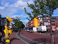Scrap-Art Transformers in Surhuisterveen.  Bayke foto.