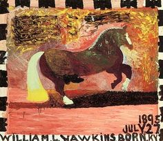 """""""Horse with Yellow Tail,"""" William Hawkins"""