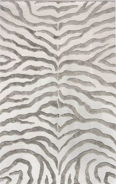 Found It At Wayfair Earth Soft Zebra Gray Area Rug