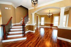 Love the wooden floors and the space