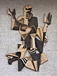 I found these amazing wall reliefs while exploring mid-century Dutch design and architecture. Frans Tuinstra (1923-2006),1956, exterior of M...