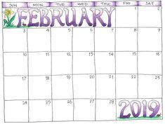 free february 2019 calendar printable