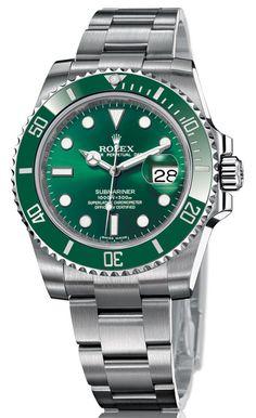 "Rolex Oyster Perpetual Date Submariner ""Hulk"" Ref 116610 LV Green Ceramic Bezel / Anniversary"