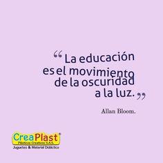 Sin duda nos abre nuevos caminos y panoramas ! #educación #aprendizaje Creaplast S.A.S www.creaplast.co