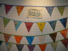 Pennants for art fair booth White Feathers, Art Fair, Stoneware, Tapestry, Ceramics, Studio, Home Decor, Hanging Tapestry, Ceramica