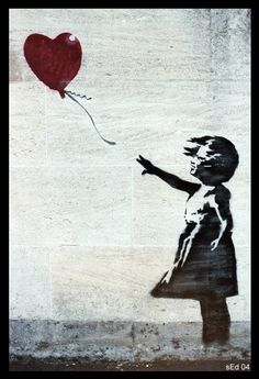 Bansky the Graffiti artist did this