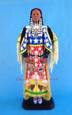 Rhonda Holy Bear - Lakota Doll artist