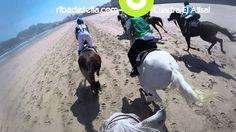 Carrera de caballos playa de Ribadesella, Asturias con GoPro [Más info] http://www.desdeasturias.com/carrera-de-caballos-en-santa-marina/
