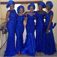 In Nigerian culture, families and friends often wear similar fabric at cultural celebrations to show unity and support. At traditional weddings, the women whom the bride chooses to wear aso-ebi can…
