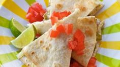Kids love quesadillas and they love ranch dressing. Serve up Ranch Baked Quesadillas, and they'll be so happy, they might even help you with the dishes. Baked Chicken, Chicken Recipes, Hidden Valley Recipes, Acid Reflux Recipes, Good Food, Yummy Food, Fun Food, Tasty, Quesadilla Recipes