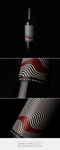 Red Is The New Black - Packaging of the World - Creative Package Design Gallery - http://www.packagingoftheworld.com/2017/07/red-is-new-black.html - created via https://pinthemall.net
