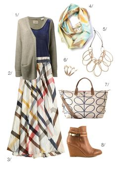 how to wear a maxi skirt in fall - megan auman