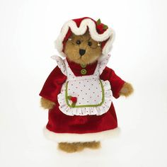 Boyds Bears :: Mrs. Kringlebeary ..9 INCHES :: Dressed Bears