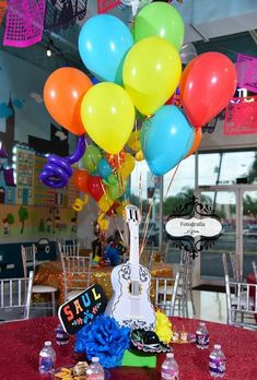 Decoration for the celebration of beauty and the beast Today I will take the time to talk about an unforgettable Disney classic like Beauty and the Beast, Mexican Birthday Parties, Mexican Party, Coco Disney, Fiesta Theme Party, Birthday Party Decorations, Birthday Invitations, Valentines, 2nd Birthday, Birthday Ideas