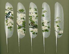 Feather Art   Ian Davie inspiration