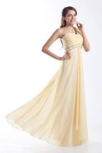One shoulder floor length long evening prom dress
