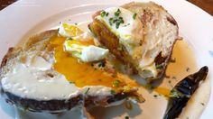 Croque Madame @FirStreetEarls in #Vancouver