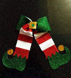 Christmas elf bow