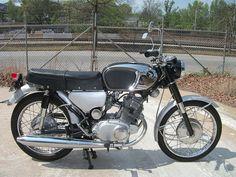 Classic 1960's HONDA Motorcycle