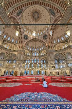 The Fatih Mosque, Istanbul, Turkey