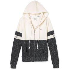 Perfect Zip Hoodie PINK ($40) ❤ liked on Polyvore featuring tops, hoodies, hooded pullover, zip hooded sweatshirt, pink hoodie, pink hooded sweatshirt and zip hoodie