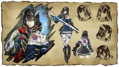 Bloodstained: Ritual of the Night by Koji Igarashi - Miriam concept art | #Bloodstained #RitutalOfTheNight #Igavania
