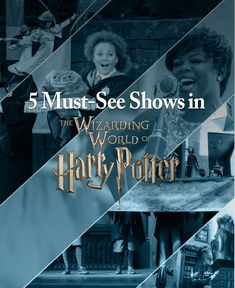 5 must-see shows at The Wizarding World of Harry Potter in Universal Orlando Resort including the Hogwarts Frog Choir, The Tale of the Three Brothers, The Fountain of Fair Fortune, Celestina Warbeck and the Banshees, and the Triwizard Spirit Rally at both Universal Studios Florida, Universal Orlando, Disney Universal Studios, Harry Potter Universal, Orlando Travel, Orlando Vacation, Orlando Disney, Downtown Disney, April Vacation
