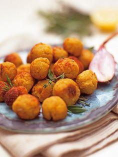 Polpettine di patate/Potato balls