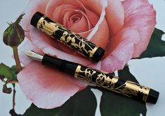Fountain Pens by Henry Simpole. Henry The Pen Man. Vintage Fountain Pens. 12 Admiral Vernon Arcade