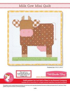 Bee In My Bonnet: 3 New Farm Girl Vintage Blocks - YaY!