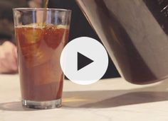 How to make the BEST iced coffee, yourself, and save a lot of money by not going to the coffee shop.