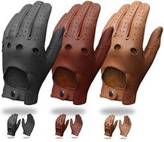 Mens Pair Of Classic Genuine Soft Nappa Leather Driving Gloves Dress Fashion Motorbike Vintage Style Retro Motorcycle Helmets, Motorcycle Gloves, Motorcycle Leather, Motorcycle Style, Leather Driving Gloves, Leather Gloves, Leather Men, Gloves Fashion, Mein Style