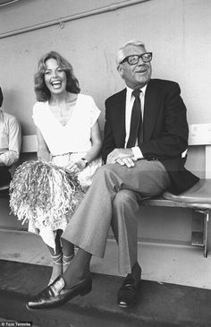 Toni made an appearance with actor Cary Grant at a Los Angeles Dodgers game in 1978