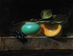 "Jeff Legg ' Sweep of Melon' oil 11"" x 14"""