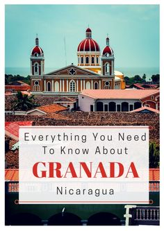 One of the oldest cities in the Americas, Granada Nicaragua is oozing with Spanish colonial charm. Don't miss this guide to the city: Ometepe, Granada, New Travel, Future Travel, Gaudi, Honduras, Belize, Tango, Costa Rica