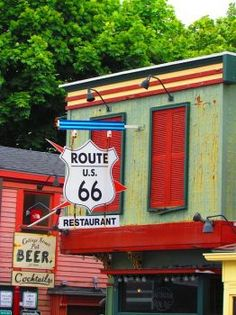 Route 66 Restaurant, Maine (88 pieces)
