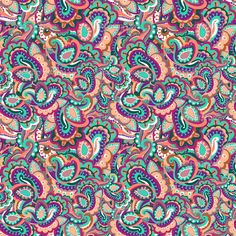 colorful paisley computer background - Google Search