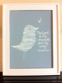 scripture art - maybe make the bird out of the page from the bible?